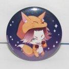 Diabolik Lovers - Laito Sakamaki Fox - Button Can Badge - NEW