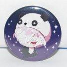 Diabolik Lovers - Lunatic Parade - Subaru Sakamaki Panda - Button Can Badge - NEW