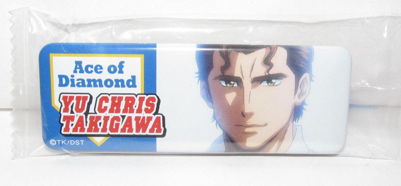 Ace of Diamond - Yu Chris Takigawa Button Can Badge - NEW