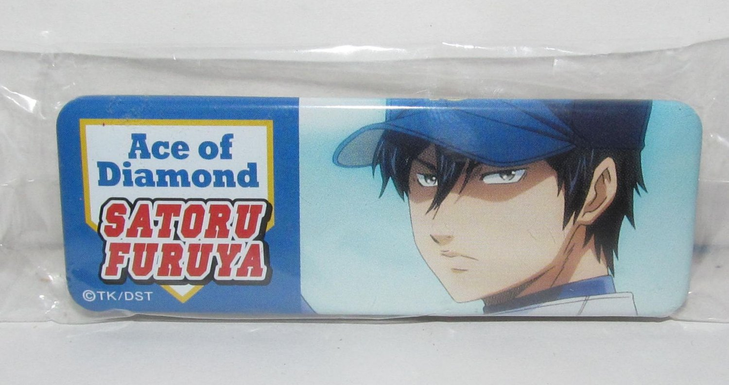 Ace of Diamond - Satoru Furuya Button Can Badge - NEW