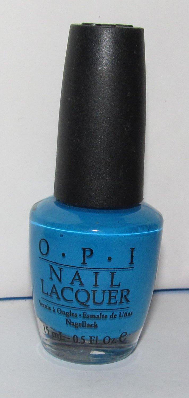 OPI Nail Polish - Ogre-The-Top Blue NL B93 - NEW
