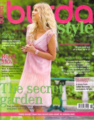 NEW Burda Style Magazine 06/2012 Uncut Folded Patterns US 4-24 EUR 34-52 English