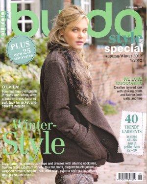 NEW Burda Plus Pattern Magazine Autumn/Winter 2012 US 14-26 EUR 44-54 English
