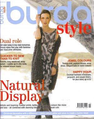 NEW Burda Magazine 11/2012 Uncut Folded Patterns US 2/4-24 (EUR 34-52) English