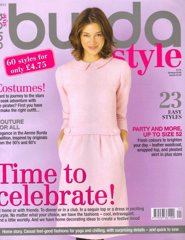 Brand New Burda Magazine 01/2013 (English Edition) W