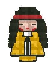 Japanese doll - Momiji # 556789