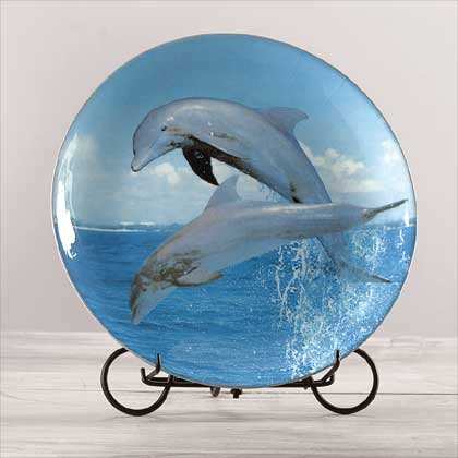 DOLPHIN PATWORK PLATE