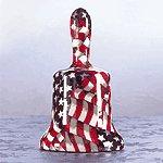 AMERICAN FLAG BELL