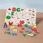ALPHABET PICTURE BOARD OR PUZZLE