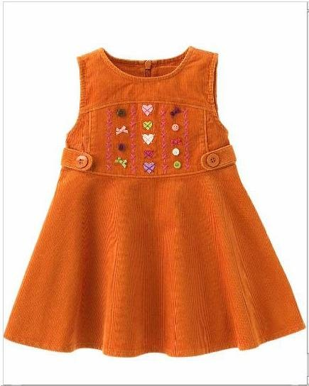 Gymboree Heart Embroidered Dress