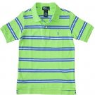 Ralph Lauren Classic Stripe Polo - Oasis Green