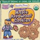 Maple Arrowroot Cookies