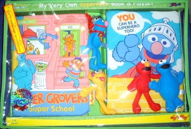 My Very Own Super Hero Playset