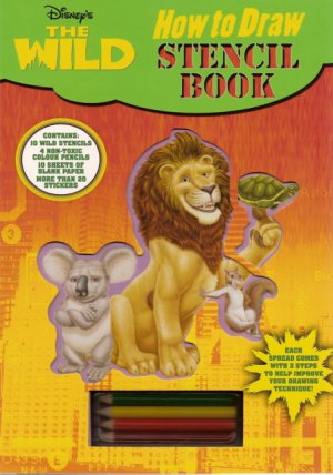 How to Draw Stencil Activity Book