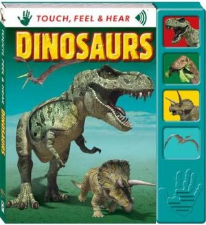 Touch Feel & Hear Board - Dinosaurs