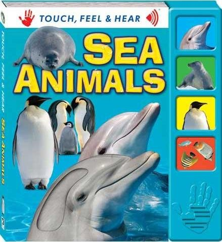 Touch Feel & Hear Board - Sea Animals