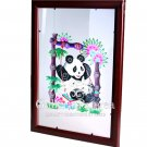 Paper Cut (framed), 'Panda on a Swing'