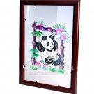 Paper Cut (framed), 'Panda on a Swing'