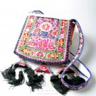 Embroidery Handbag, 'Miao Tradition'