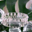 Silver Bracelet, 'Stars'
