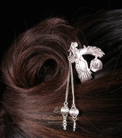 Silver Hairpin, 'Eagle'
