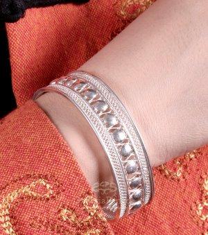 Silver Bracelet, 'Strength'