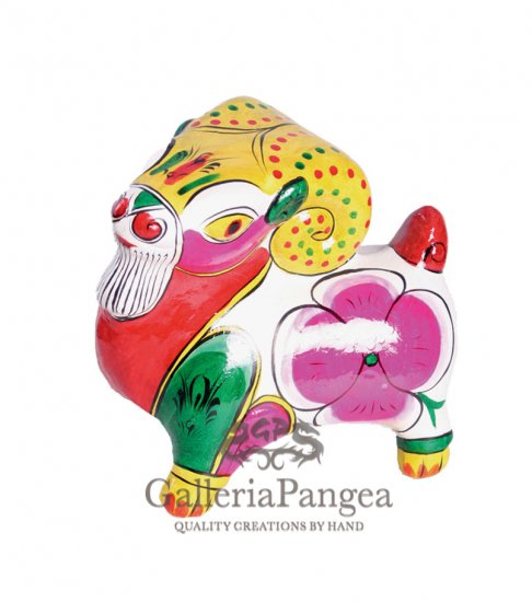 Fengxiang Sculpture, 'Zodiac Goat'