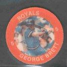 1984 7-11 Slurpee Coins #H5 GEORGE BRETT