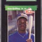 1989 Donruss Rookies #3 Ken Griffey, Jr. SGC 88