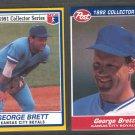 1991 Post #26 & 1992 Post #11 GEORGE BRETT