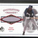 2001 SP Authentic Cooperstown Calling Game Jersey #CC-TG TONY GWYNN