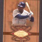 2001 SP Game Bat Milestone Edition Piece of Action Bound for Hall #B-TGw TONY GWYNN
