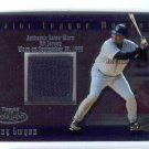 2002 Topps Gold Label Major League Moments Relics Platinum #GMR-TG TONY GWYNN
