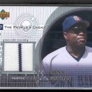 2002 Upper Deck The People's Choice Game Jersey TONY GWYNN