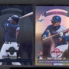 2 - 1997 Donruss Limited Exposure Counterparts #91 TONY GWYNN Brett Butler
