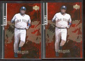 2 - 2000 Black Diamond Rookie Edition #76 TONY GWYNN