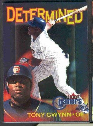 2000 Fleer Gamers Determined #D11 TONY GWYNN