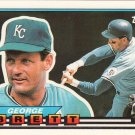 1989 Topps Big #46 GEORGE BRETT