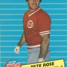 1986 Fleer Future Hall of Famers #1 Pete Rose