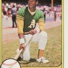 1981 Fleer #574 Rickey Henderson