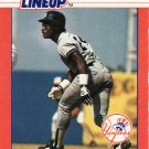 1988 Kenner Starting Lineup Cards #48 Rickey Henderson NYY