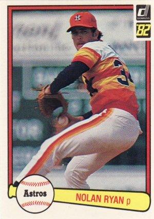 1982 Donruss #419 Nolan Ryan