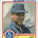 1984 Milton Bradley #28 Lou Whitaker