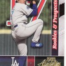 2002 Absolute Memorabilia Rookies & Prospects SAMPLE Kazuhisa Ishii Dodgers