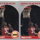 2 - 1990-91 Hoops #127 Hakeem Olajuwon MINT