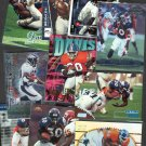 12 - Terrell Davis Card Lot DENVER BRONCOS