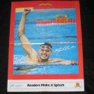 1989 SI for Kids Poster MATT BIONDI Olympic Swimmer