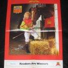 1989 SI for Kids Poster Julie Krone - Female Jockey