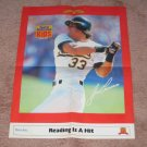 1989 SI for Kids Poster JOSE CANSECO Oakland A's
