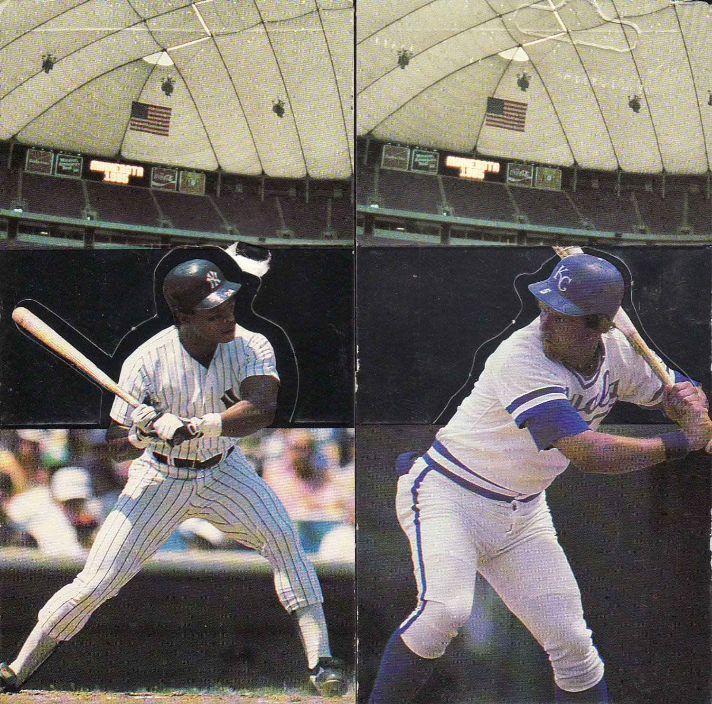 1986 Donruss Pop-Ups 18 Card Complete Set All-Stars UnPopped